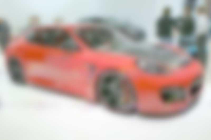 Porsche Panamera Techart - side