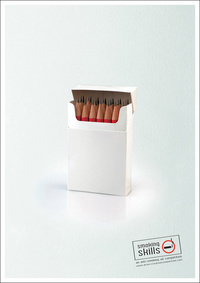 Smoking Skills - A pack of cigarettes