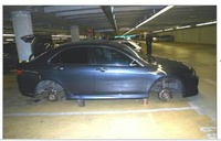 don't leave your car in Prague Airport parking place!