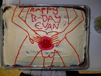 Hally B-Day Evan!