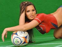 Football Body Paint WorldCupBaby 2005