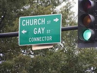 Church and Gay Streets Connector
