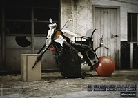 Honda Creative Ad Art - Motorbikes Use Original Parts 04