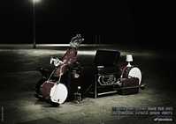 Honda Creative Ad Art - Motorbikes Use Original Parts 06