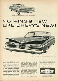 1958 - Chevrolet Chevy Impala Sport Coupe Bel Air