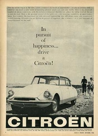 1958 - Citroen Cars Corporation - In pursuit of happiness