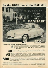 1958 - Citroen Dyna Panhard - On the Road