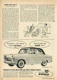 1958 - English Ford Line Compact yet roomy (England)
