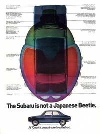 1971 - Subaru Not a Japanese Beetle
