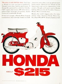 Honda Scooter - the price is only half of story