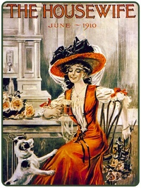 1910 - Coca-Cola - The Housewife