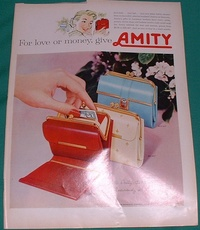 1959 - Amith billfold leather