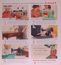 1958-Singer-Sewing-Machine