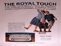 1964-Royal-portable-typewriter