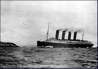Lusitania in 1911