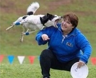 Frisbee Dog Jump: The Fake and The Real
