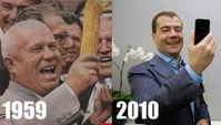 1959 (corn) vs. 2010 (phone) - Same Reaction!