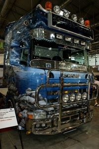 Painted Scania Front