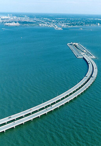 Monitor-Merrimac Memorial Bridge-Tunnel, Virginia, United States