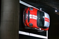 Mini Cooper S on the wall