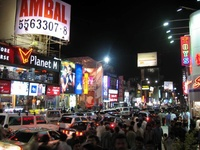 Brigade Road in Bangalore