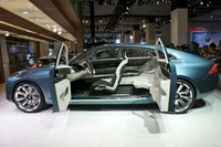 Volvo Concept YOU Side Doors Opened