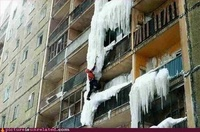 Urban Ice Alpinism