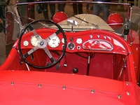 1938 BMW 319 Roadster - dashboard