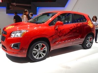 Chevrolet TRAX - side view