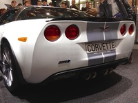 Chevrolet Corvette Supercharged ZR1 - rear view