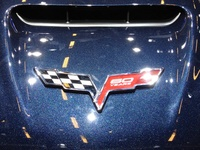 Chevrolet Corvette - 60 years logo