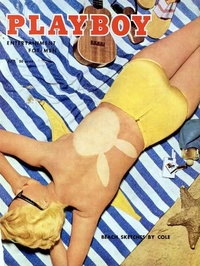 1955 - Playboy magazine cover of July