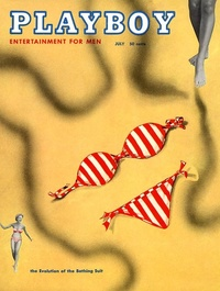 1954 - Playboy magazine cover of July