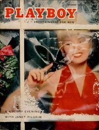 1955 - Playboy magazine cover of December