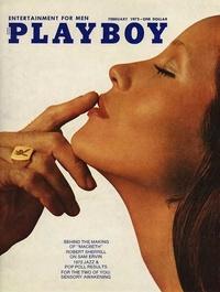 1972 - Playboy magazine cover of February