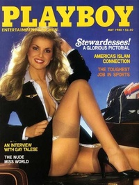 1980 - Playboy magazine cover of May