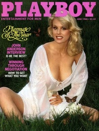 1980 - Playboy magazine cover of June