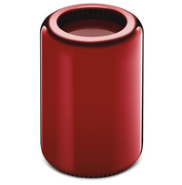 Apple Macpro Red 2013 by Jony Ive and Marc Newson