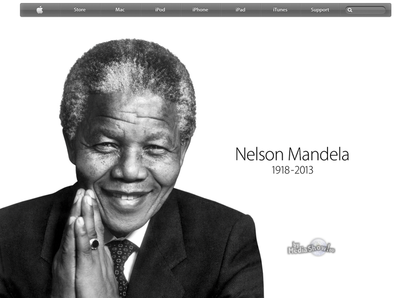 Nelson Mandela - 1918-2013 - Apple.com
