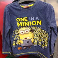 ONE in a MINION sweater