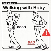 Walking with Baby