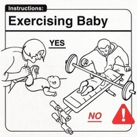 Exercisig Baby