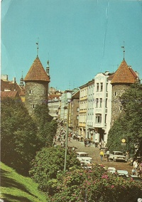The Viru Gate, Tallin, Estonia