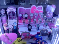 A bunch of Hello Kitty watches