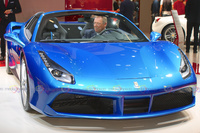 2016 Ferrari 488 Spider - Frontal Angle View