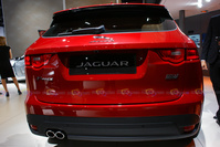 2016 Jaguar F-pace 2.0d AWD - Rear View