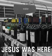 From Water to Wine - Jesus was in Supermarket
