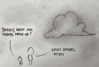 Clouds are made of... linux servers, mostly