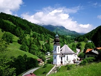 Maria Gern Church, Bavaria, Germany