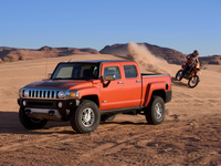 2009 Hummer H3T Alpha Dirt Bike Drive